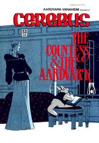 Cover Thumbnail for Cerebus (Aardvark-Vanaheim, 1977 series) #53