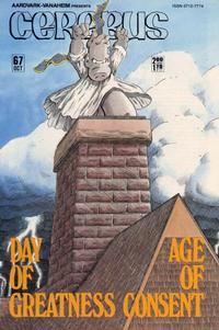 Cover for Cerebus (Aardvark-Vanaheim, 1977 series) #67