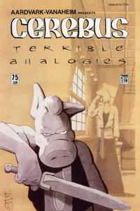 Cover Thumbnail for Cerebus (Aardvark-Vanaheim, 1977 series) #75