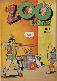Cover Thumbnail for Zoo Funnies (Charlton, 1945 series) #6
