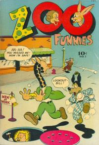 Cover Thumbnail for Zoo Funnies (Charlton, 1945 series) #7