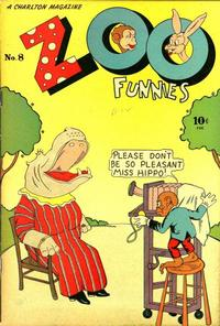Cover Thumbnail for Zoo Funnies (Charlton, 1945 series) #8