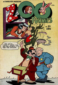 Cover Thumbnail for Zoo Funnies (Charlton, 1945 series) #11