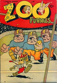 Cover Thumbnail for Zoo Funnies (Charlton, 1945 series) #14