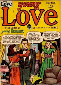 Cover Thumbnail for Young Love (Prize, 1949 series) #v1#1 [1]