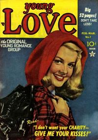 Cover Thumbnail for Young Love (Prize, 1949 series) #v2#1 (7)