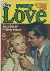Cover Thumbnail for Young Love (Prize, 1949 series) #v3#5 (23)