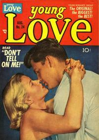 Cover Thumbnail for Young Love (Prize, 1949 series) #v3#6 (24)