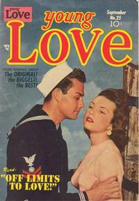 Cover Thumbnail for Young Love (Prize, 1949 series) #v3#7 (25)