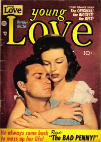 Cover Thumbnail for Young Love (Prize, 1949 series) #v3#8 (26)