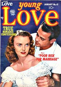 Cover Thumbnail for Young Love (Prize, 1949 series) #v4#11 (41)