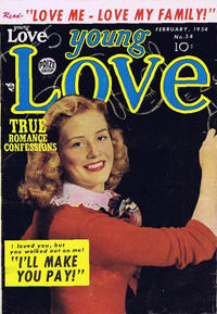 Cover Thumbnail for Young Love (Prize, 1949 series) #v5#12 (54)