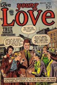 Cover Thumbnail for Young Love (Prize, 1949 series) #v6#1 (55)