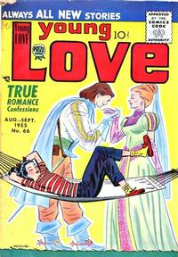 Cover Thumbnail for Young Love (Prize, 1949 series) #v6#12 (66)