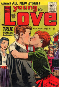 Cover Thumbnail for Young Love (Prize, 1949 series) #v7#1 (67)
