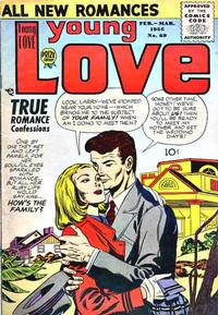 Cover Thumbnail for Young Love (Prize, 1949 series) #v7#3 (69)