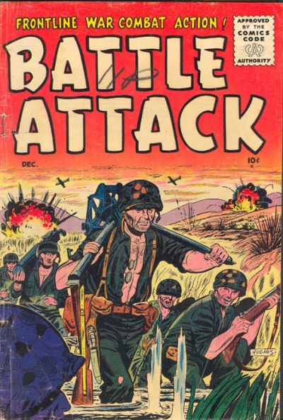 Cover for Battle Attack (Stanley Morse, 1954 series) #8