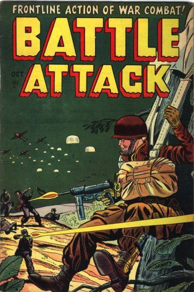 Cover for Battle Attack (Stanley Morse, 1954 series) #1