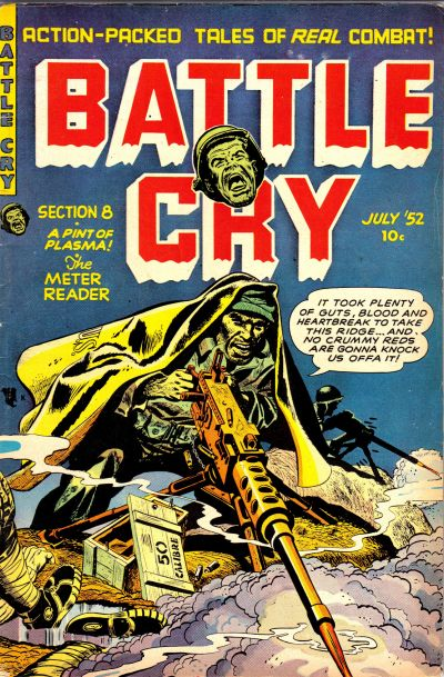 Cover for Battle Cry (Stanley Morse, 1952 series) #2