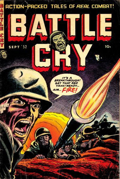 Cover for Battle Cry (Stanley Morse, 1952 series) #3