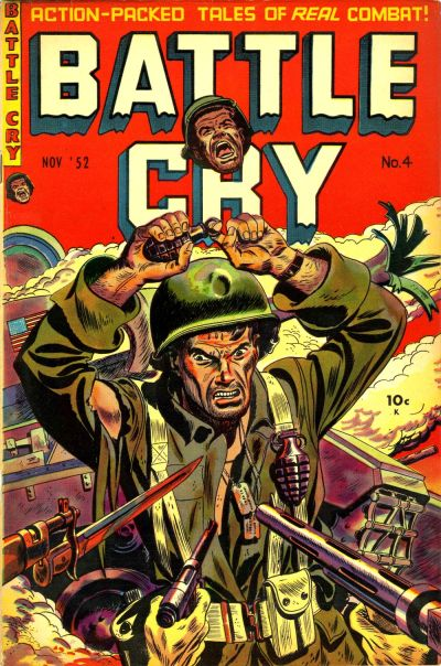 Cover for Battle Cry (Stanley Morse, 1952 series) #4