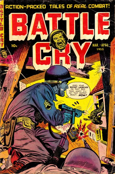 Cover for Battle Cry (Stanley Morse, 1952 series) #6