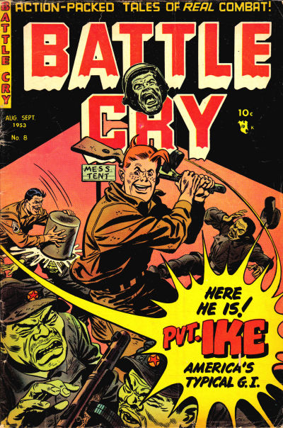 Cover for Battle Cry (Stanley Morse, 1952 series) #8