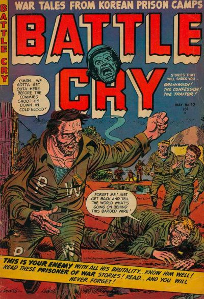 Cover for Battle Cry (Stanley Morse, 1952 series) #12