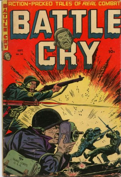 Cover for Battle Cry (Stanley Morse, 1952 series) #14