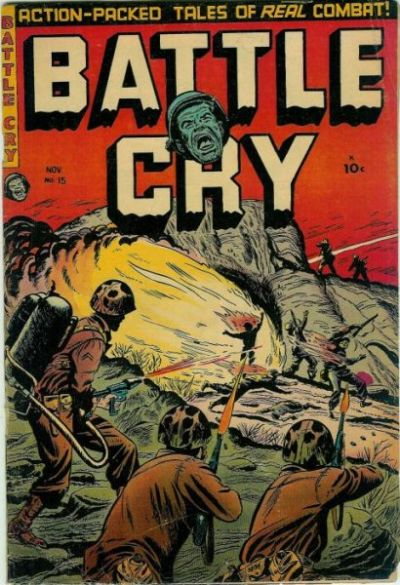 Cover for Battle Cry (Stanley Morse, 1952 series) #15