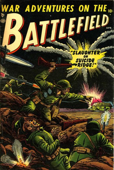 Cover for Battlefield (Marvel, 1952 series) #1