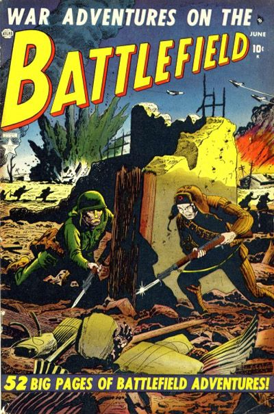 Cover for Battlefield (Marvel, 1952 series) #2