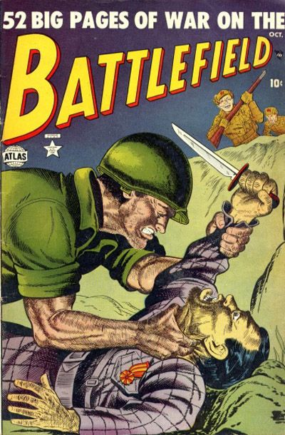 Cover for Battlefield (Marvel, 1952 series) #4