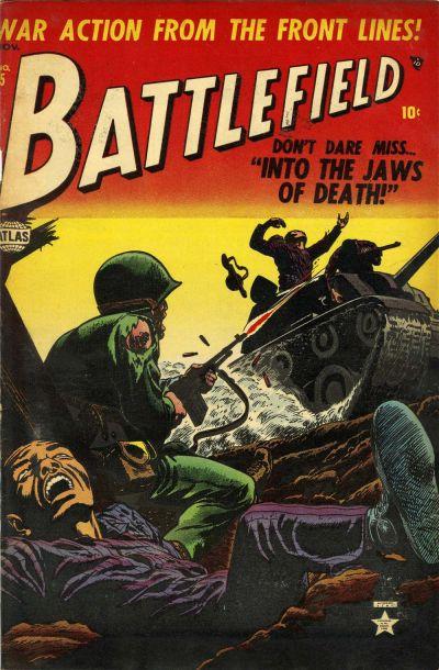 Cover for Battlefield (Marvel, 1952 series) #5