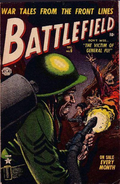 Cover for Battlefield (Marvel, 1952 series) #6