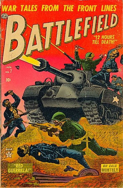 Cover for Battlefield (Marvel, 1952 series) #7