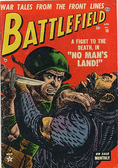 Cover for Battlefield (Marvel, 1952 series) #10