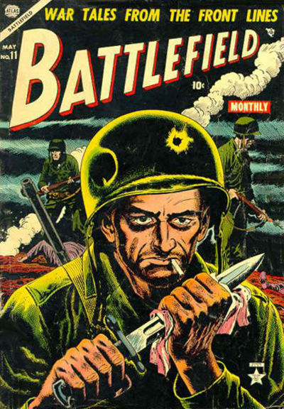 Cover for Battlefield (Marvel, 1952 series) #11