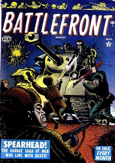 Cover for Battlefront (Marvel, 1952 series) #3