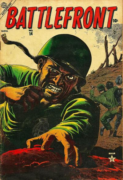 Cover for Battlefront (Marvel, 1952 series) #14