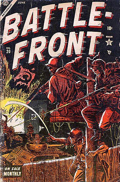 Cover for Battlefront (Marvel, 1952 series) #20