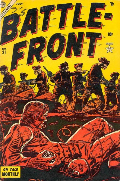 Cover for Battlefront (Marvel, 1952 series) #21