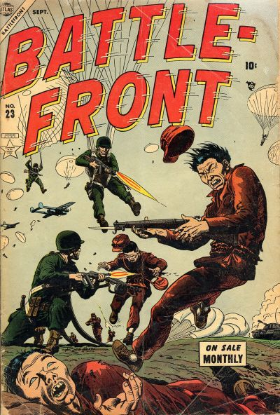 Cover for Battlefront (Marvel, 1952 series) #23