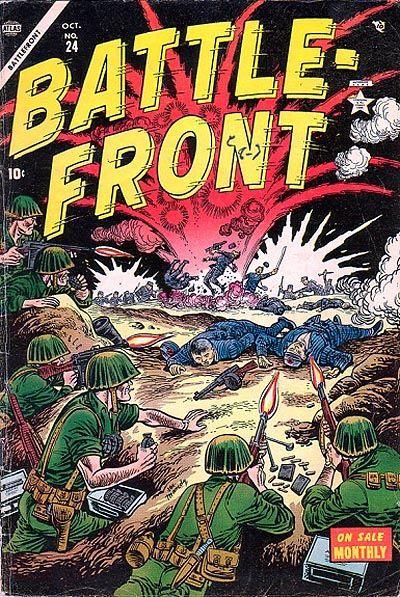 Cover for Battlefront (Marvel, 1952 series) #24