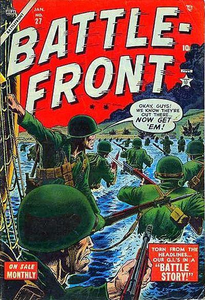 Cover for Battlefront (Marvel, 1952 series) #27