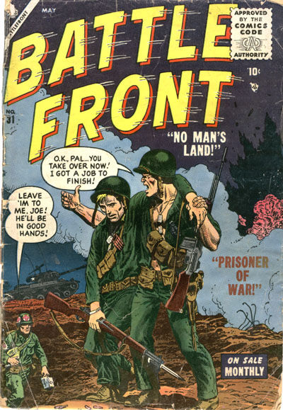 Cover for Battlefront (Marvel, 1952 series) #31