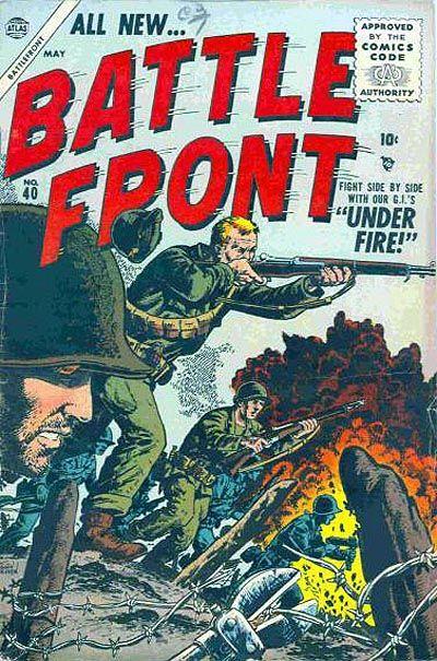 Cover for Battlefront (Marvel, 1952 series) #40