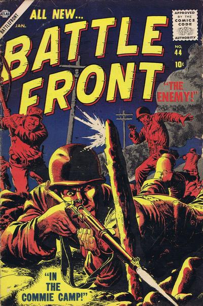 Cover for Battlefront (Marvel, 1952 series) #44