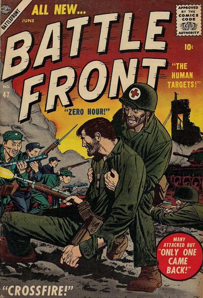 Cover for Battlefront (Marvel, 1952 series) #47