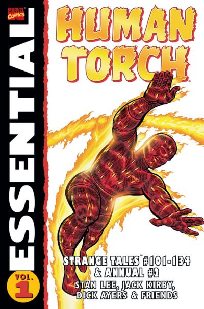 Cover for Essential Human Torch (Marvel, 2003 series) #1